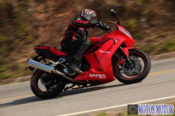 DAFRA ROADWIN 250R 2012 TRANSITO...
